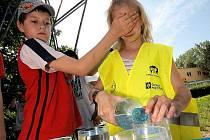 Soutěže s názvem Neviditelný svět v pohybu se včera zúčastnili žáci 4. třídy z jihlavské základní školy Nad Plovárnou.