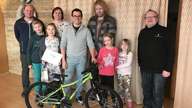 Rodina z Telče pomohla rodině ze Stonařova.