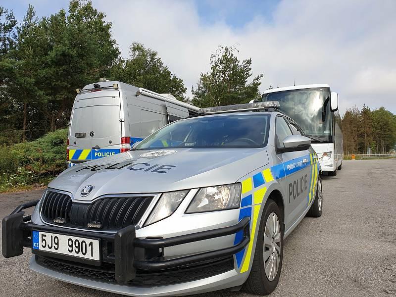 Policisté v Kraji Vysočina realizovali kontroly od pátečního večera, v průběhu soboty a neděle.