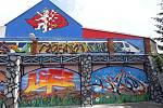 Graffiti v Bezručově ulici je po měsíci práce hotové. Foto: Magistrát města Jihlavy
