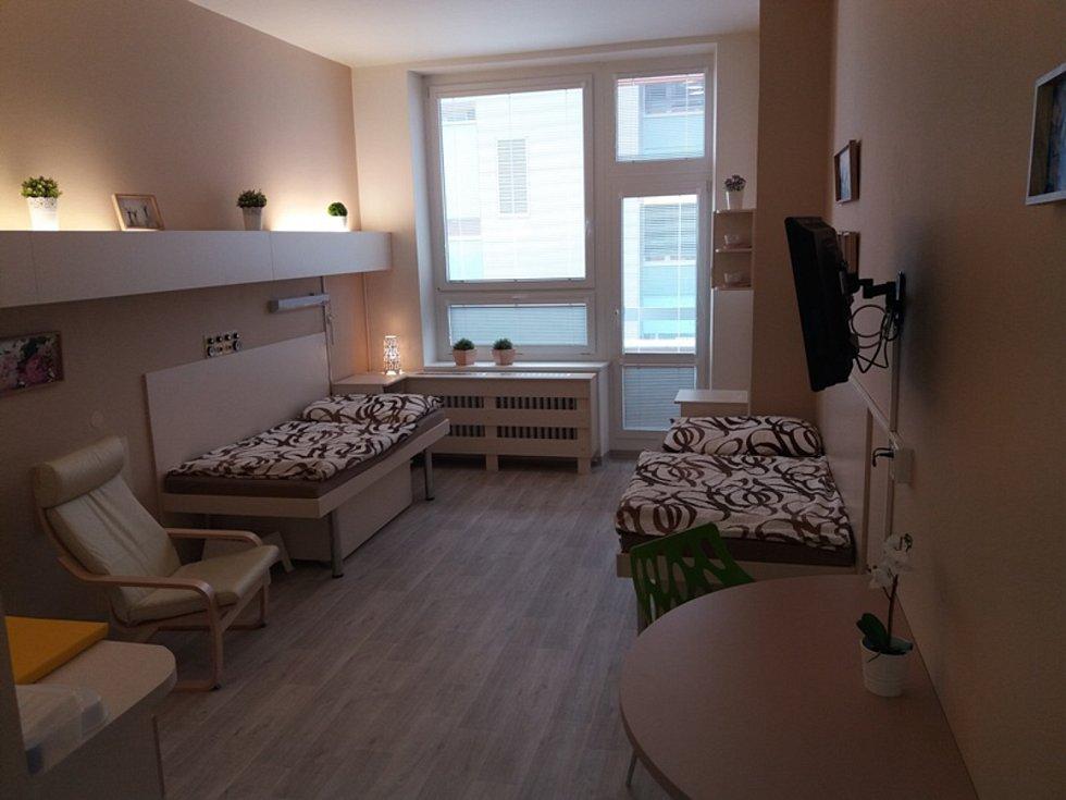 Takto nový pokoj vypadá.