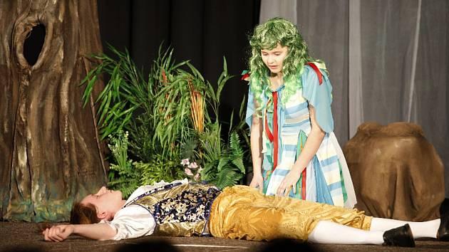 Divadelní hra v podání DS Jana Lišky, ilustrační foto