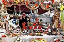 Řemeslné trhy na jihlavském Masarykově náměstí