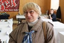 Vdova po zakladateli Klubu plastikových modelářů Jihlava Marie Bratrschovská