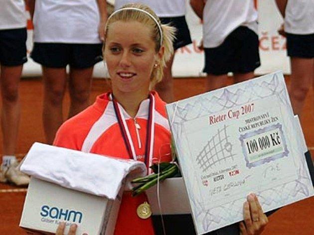 Na nejpomalejším tenisovém povrchu sbírá jihlavská hráčka Iveta Gerlová nejvíce úspěchů.