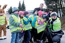 Žáky základní školy v Beranově nejvíce zaujal laserový radar, jehož výhodou je, že může být nasazen za jakéhokoliv počasí. Kromě rychlosti je schopen zaznamenat špatné předjíždění, nepřipoutání se bezpečnostním pásem nebo telefonování za jízdy.