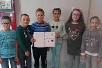 Žáci ze Základní školy Jihlava, Seifertova 5 tvořili recyklační zpravodaj.