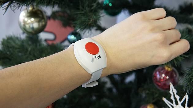 Tísňové tlačítko vypadá elegantně, jako hodinky.