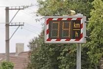 Radar ve Ždírci usvědčuje piráta silnic.