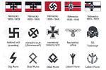 Symboly ultrapravicových extremistů, neonacistů.