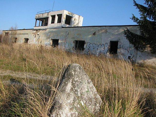 Tanková střelnice u Vílance.