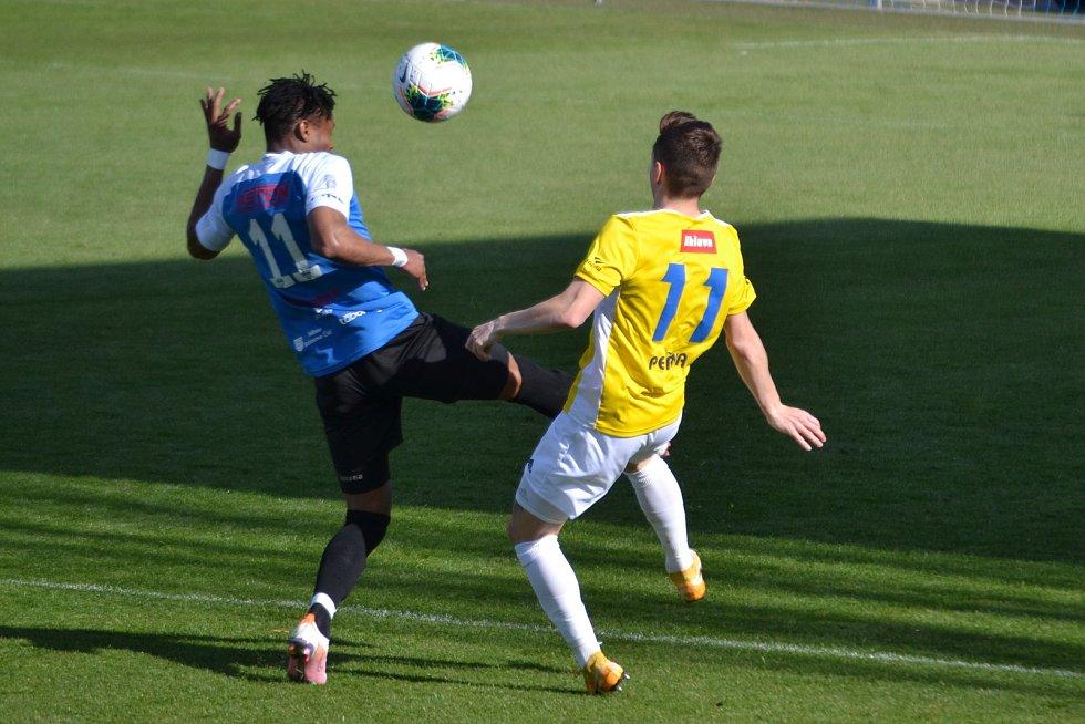 Utkání F:NL mezi FC MAS Táborsko a FC Vysočina Jihlava  skončilo nerozhodným výsledkem 2:2.