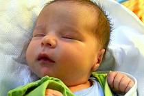 Jedno z prvních miminek narozených v jihlavské porodnici v roce 2016.