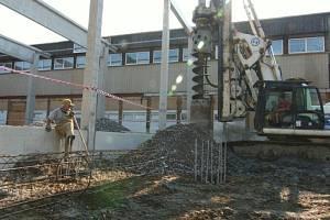 Rekonstrukce jihlavského Teniscentra na Mostecké ulici je v plém proudu.