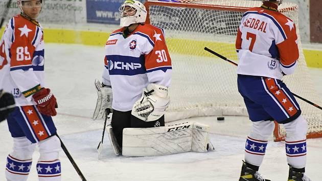 Třebíčští hokejisté doma zaváhali.