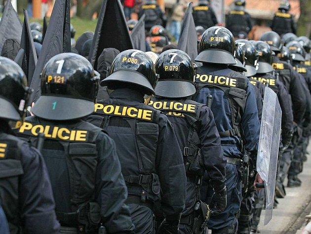 Pochod extremistů Jihlavou doprovázel v roce 2008 kordon těžkooděnců, o rok později byla akce zrušena dříve než začala. Policisté tehdy neonacisty zadrželi hned na autobusovém nádraží.