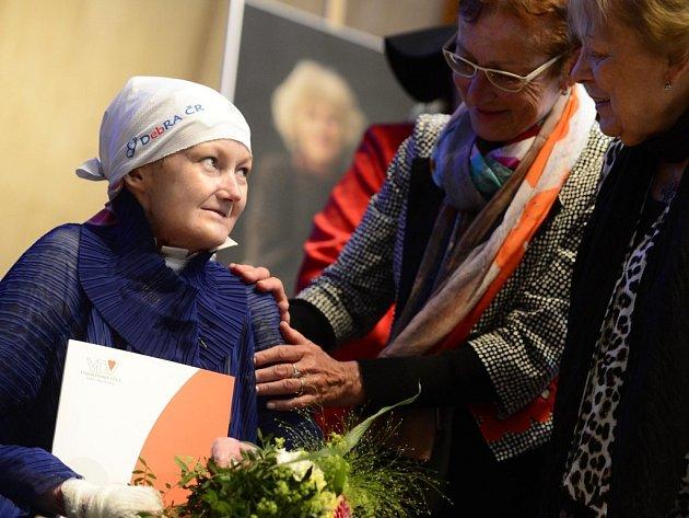 Olga Joklová dostala Cenu Olgy Havlové.