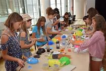 O účast na Mladé univerzitě Waldviertel-Vysočina je zájem, děti se těší na své kamarády.