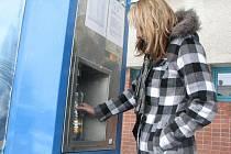 Automat na pitnou vodu v jihlavské Žižkově ulici nabízí kvalitní vodu bez dusičnanů.