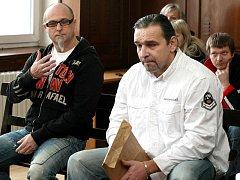 Jiří Vacíř, Rudolf Mojžíš i Jan Jüptner byli včera pelhřimovským soudem shledáni vinnými.
