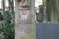 Hrob Anežky Hrůzové v Polné