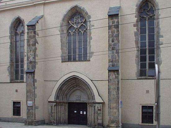 Dominikánský chrám Povýšení svatého Kříže v Jihlavě.