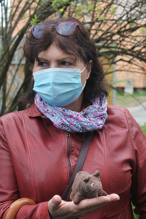 Kateřina Kadlecová z majetkového odboru jihlavského magistrátu má dle svých slov potkany ráda.