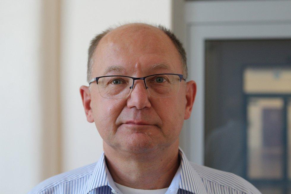 Odcházející předseda OS v Jihlavě JUDr. Vladimír Sova.