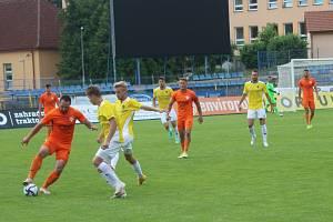Přípravné utkání FC Vysočina Jihlava - TJ Sokol Živanice.