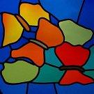 Návrh vitráže Karly Florianové