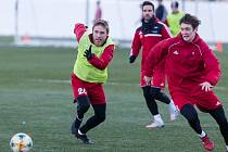 Jihlavští fotbalisté si v sobotu zahrají první letošní přípravné utkání.