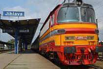 Jihlavské vlakové nádraží.