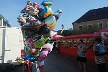 Pouť v Brtnici se tradičně koná na přelomu srpna a září.