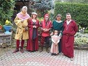 Středověké slavnosti na Lokti.