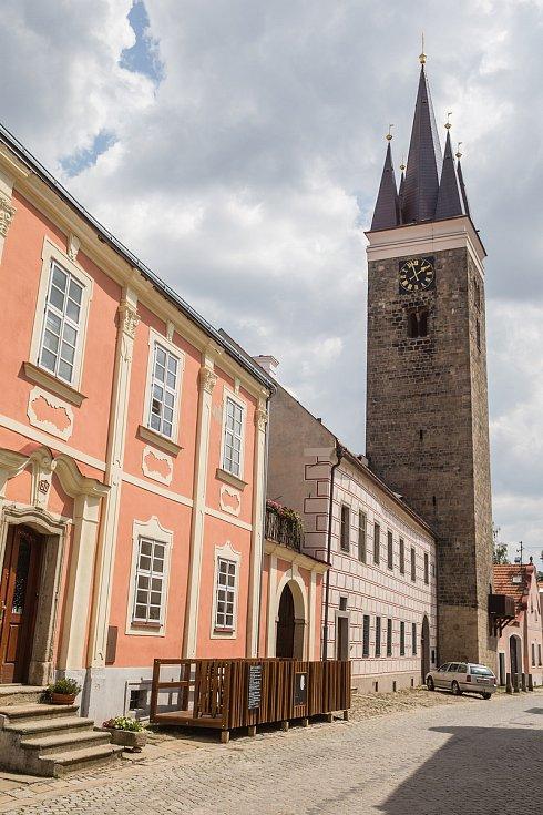 Věž sv. Ducha v Telči se opět otevřela návštěvníkům.