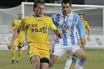 Kapitán FC Vysočina Filip Dort dovedl svoji družinu k první letošní druholigové výhře. Na půdě Sezimova Ústí neměl se spoluhráči jednoduchou úlohu, ale nakonec utkání dovedli do tříbodového zisku.