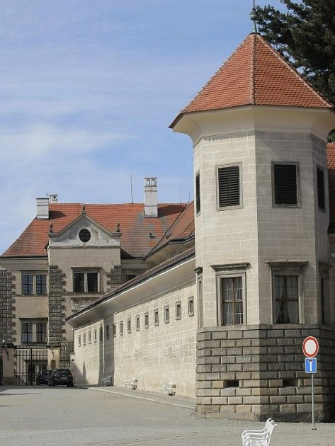Zámek v Telči.