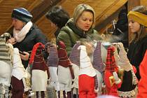 Na Vánočním jarmarku v Kamenici si na své přišli děti i dospělí.