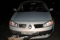 Ke střetu osobního vozu Renault s divokým prasetem došlo v katastru obce Hladov na Jihlavsku.