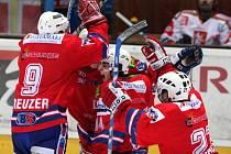 Hokejisté Horácké Slavie v prvním zápase v Hradci Králové překvapili favorita a slavili těsnou výhru 3:2. O den pozdějii ovšem byla ostuda.