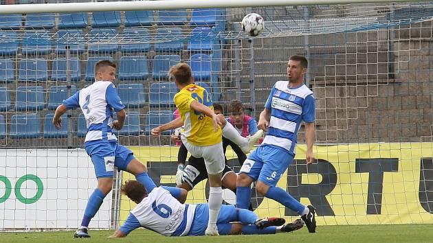 Fotbalisté Vysočiny se chtějí proti Ústí rozloučit s fanoušky vítězstvím