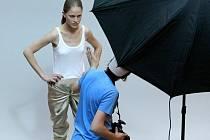 Desítky dívek mohly v pondělí v Jihlavském City Parku nastartovat kariéru modelky
