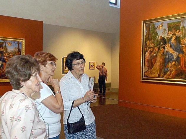 Výstava obrazů Albrechta Dürera v pražské Valdštejnské jízdárně v roce 2006 stála za zhlédnutí. Na jihlavské výstavě bude jistě Dürerovo dílo patřit k vyhledávaným.