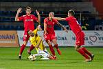 Deváté kolo FNL mezi FC Vysočina Jihlava a FC Zbrojovka Brno.