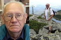 Jihlavský Zdeněk Smutný (vlevo) nechybí v jedenaosmdesáti letech na akcích seniorů, planderský starosta Miroslav Lukáš (vpravo) pro změnu před dvěma roky v osmasedmdesáti vyrazil do slovenských hor. Oba kandidují v nadcházejících komunálních volbách.