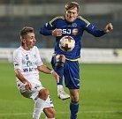 Utkání 15. kola Fotbalové národní ligy mezi FC Vysočina Jihlava a FK Ústí nad Labem.