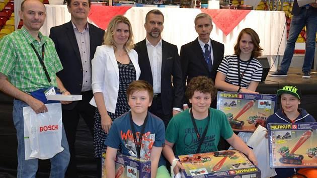 Druzí. Stříbrnou pozici vybojovali v nabité konkurenci žáci Základní školy Otokara Březiny v Jihlavě.