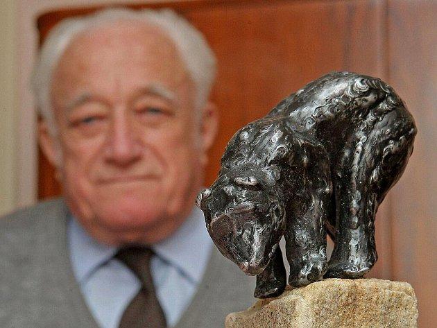 Brtnice se těší na novou sochu medvěda Brtníka.