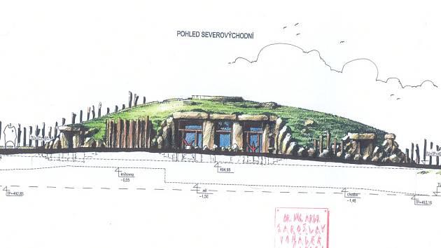 Environmentální centrum v jihlavské zoologické zahradě bude mít podobu kopce porostlého trávou. Budou v něm dvě učebny, přednáškový sál, knihovna a laboratoř.