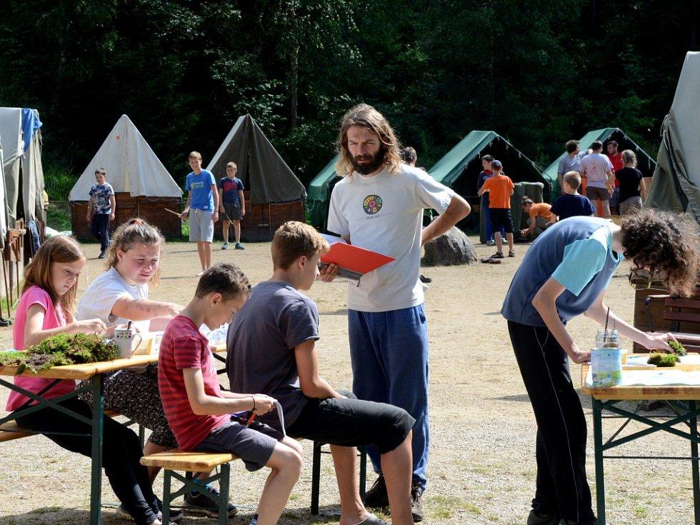 Dětský tábor v Rohozné.